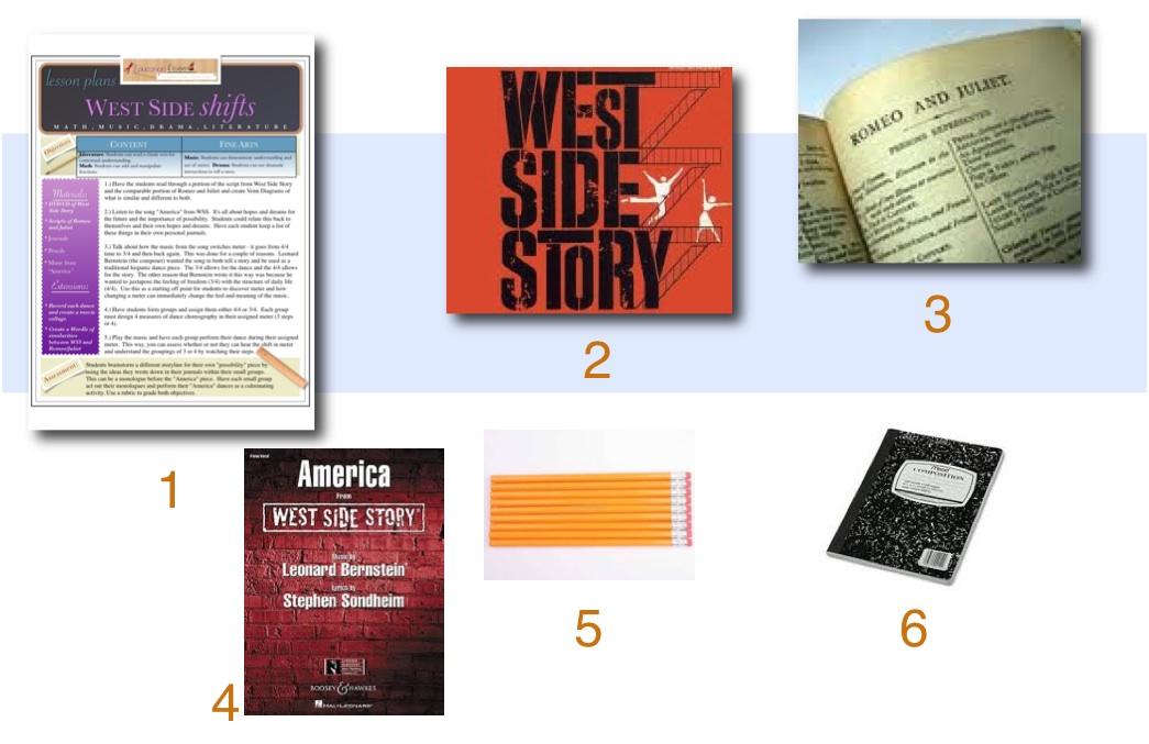 West Side Story Lesson Plan – West Side Story Worksheet