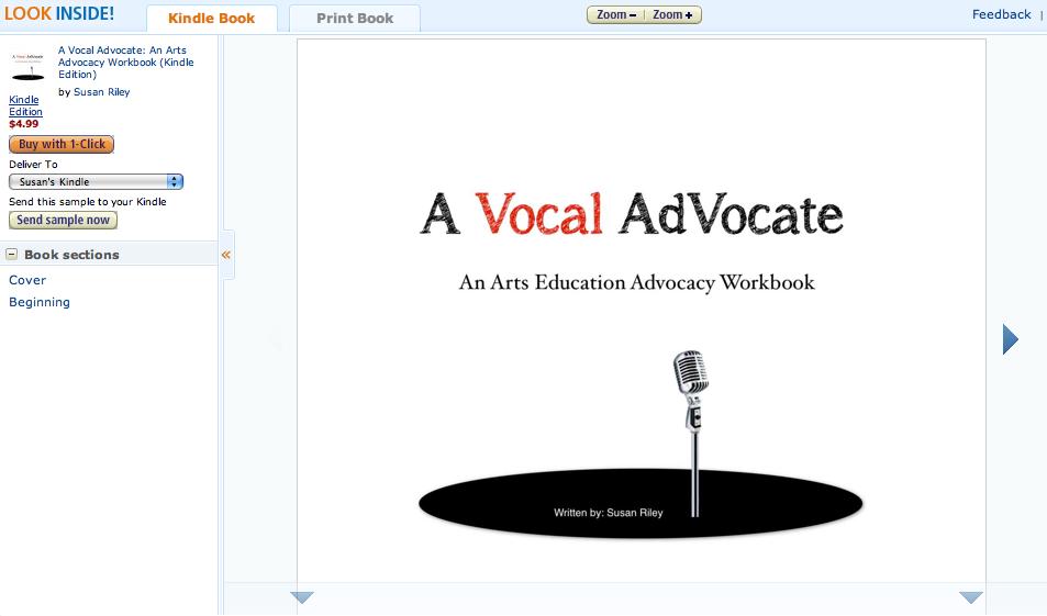 Arts Advocacy for All, Education Closet