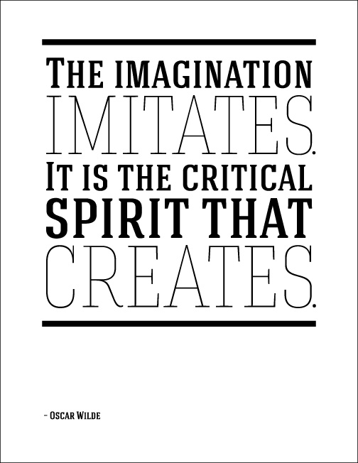 Creative spirit, Creativity Isn't Measurable, Education Closet