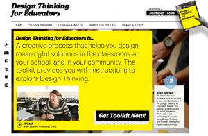 design thinking, Unpack Thinking. Education Closet