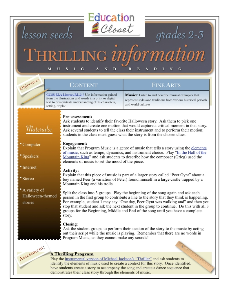 thrilling information