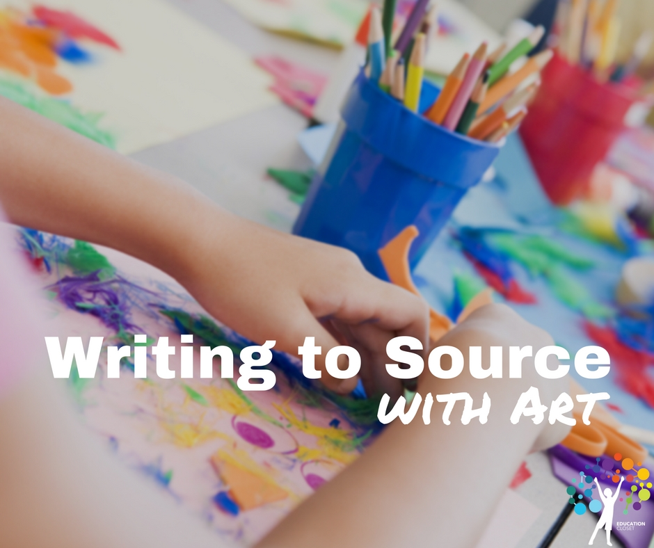 Visual Analysis: Writing to Source, Education Closet