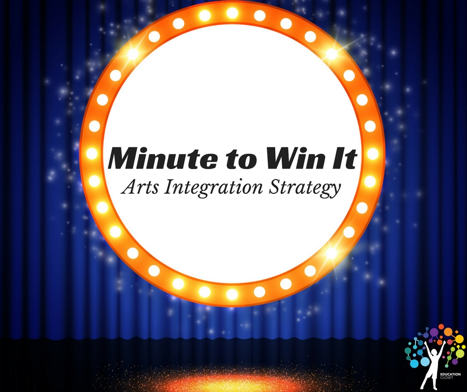 Minute to Win It Arts Integration Strategy, Education Closet