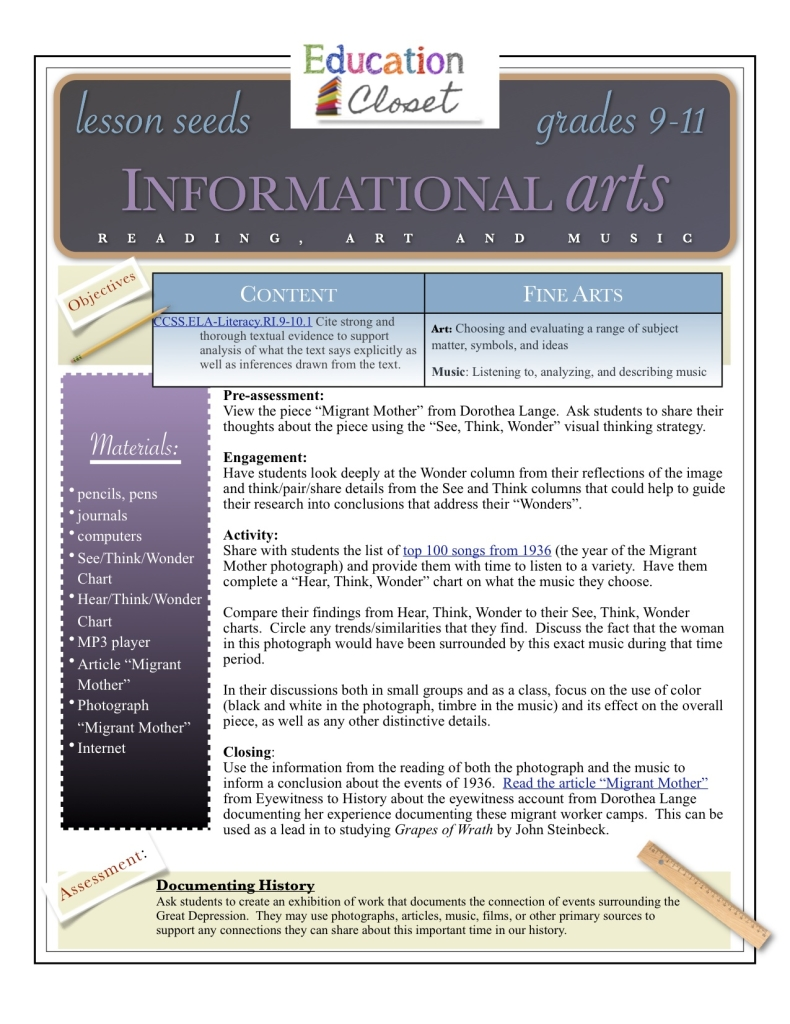 informational arts