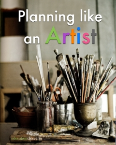 Artist Habits of Mind, A Great Planning Tool, Education Closet