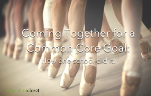 Common Core Goal, Education Closet