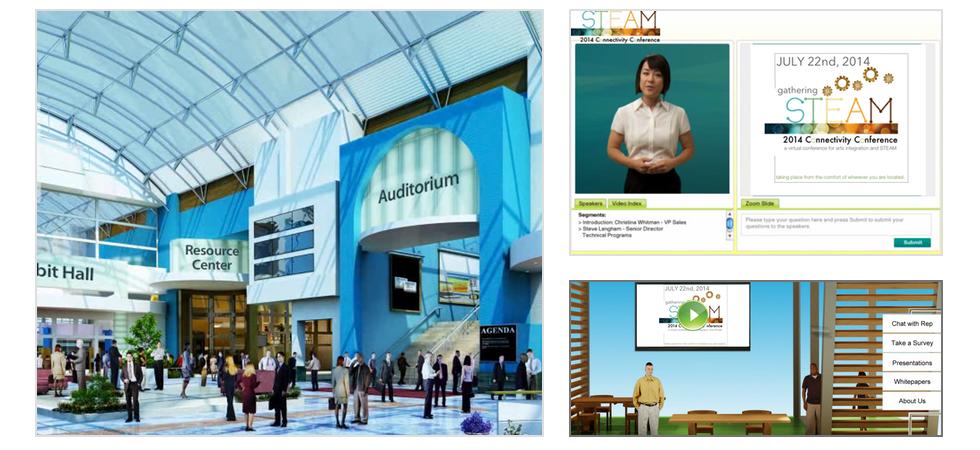 virtual conference venue