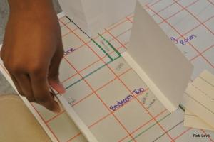 Student scale model AMS, Education Closet