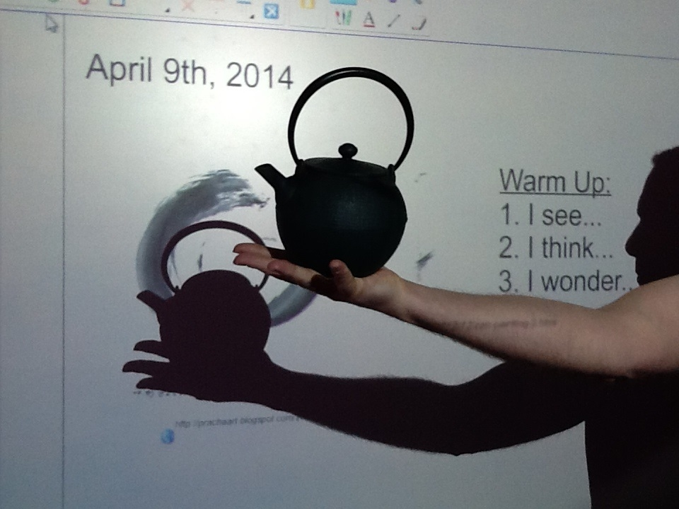 Teapot senso see think wonder, The Real Power of Arts Integration, Education Closet