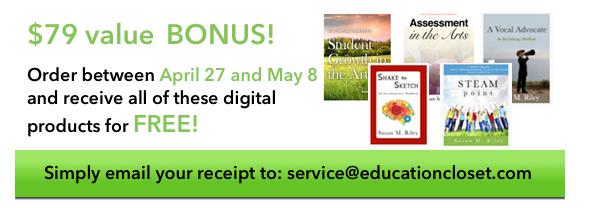 Bonus, STEAM Book Available, Education Closet