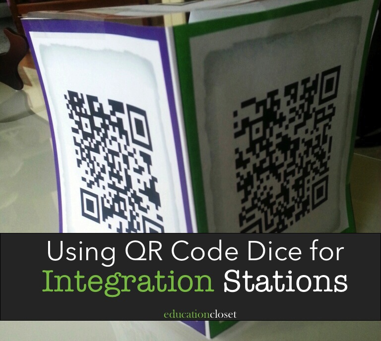 Integration Stations through QR Codes, Education Closet