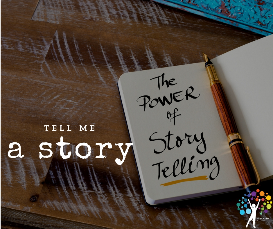 Tell Me a Story, A Guide to Interactive Storytelling, Education Closet