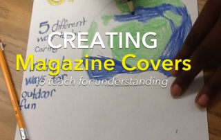 creating magazine covers