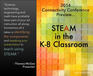 STEAM in the K-8 Classroom: Conference Preview, Education Closet