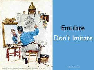 Emulate Don't Imitate, Education Closet