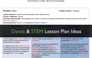 dance and stem