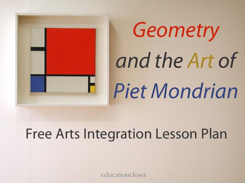 geometry and the art of piet mondrian education closet