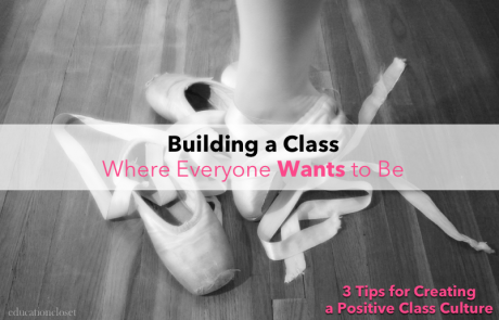 Building a Class Where Everyone Wants to Be