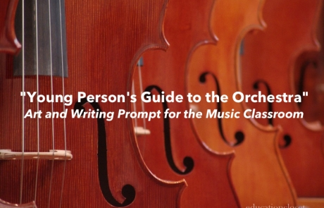 """""""Young Person's Guide to the Orchestra"""": Art and Writing Prompt for the Music Classroom"""