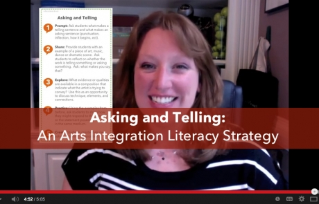 Asking and Telling Strategy Video