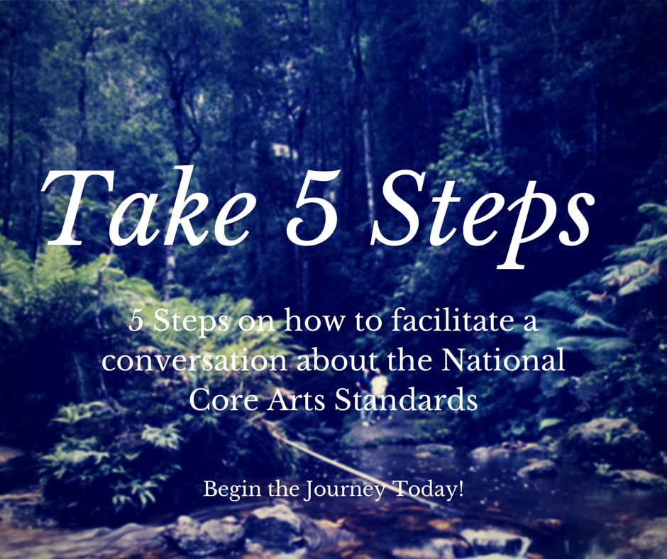 Steps to Help Facilitate a Conversation About the National Core Arts Standards, Education Closet
