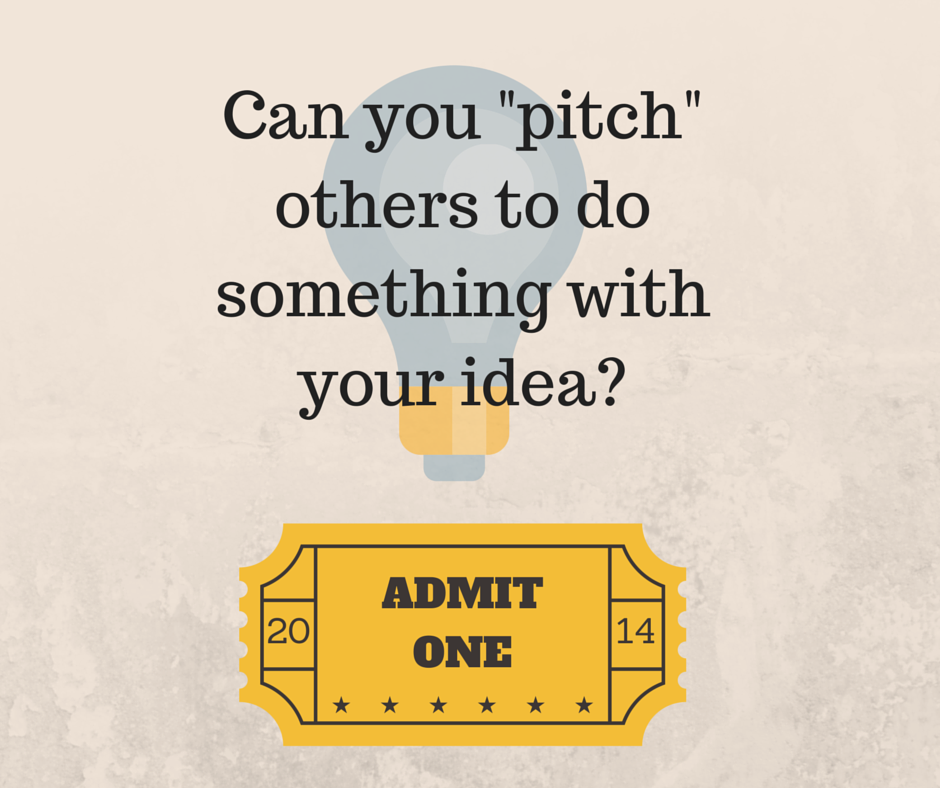 Can You Pitch Others To Do Something With Your Idea, Education Closet
