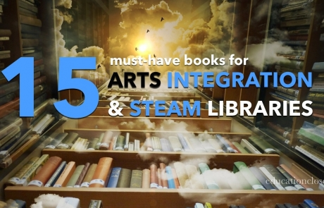 books for arts integration and steam