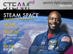 January 2015 STEAM Education Magazine