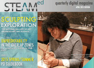 April 2015 STEAM Education Magazine