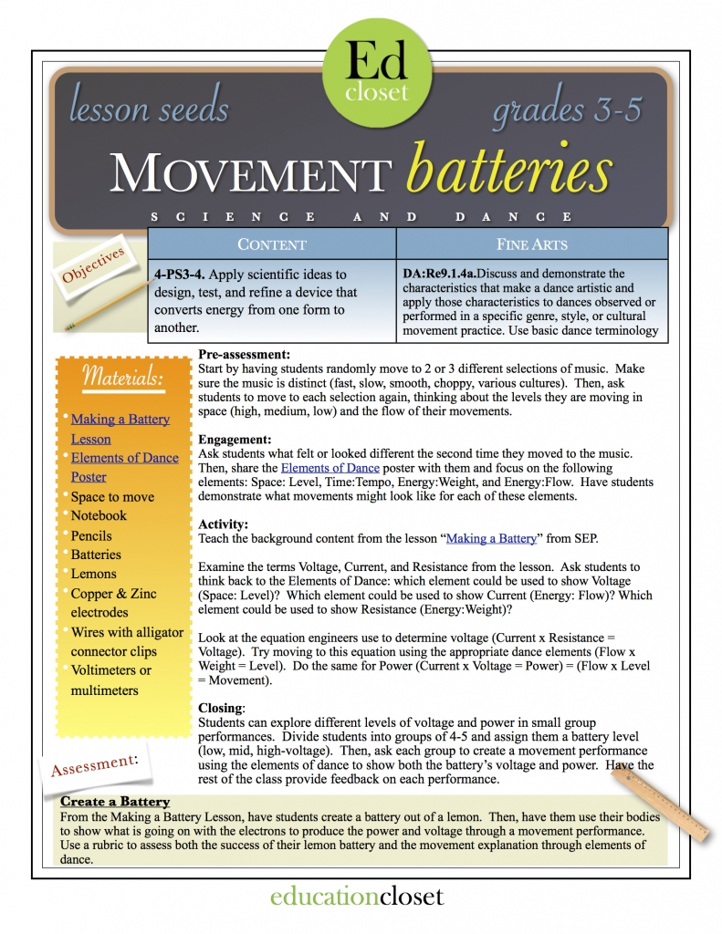 movement batteries