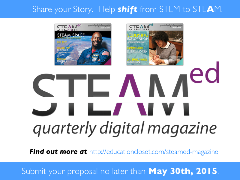 Submissions open for July edition of STEAMed Magazine