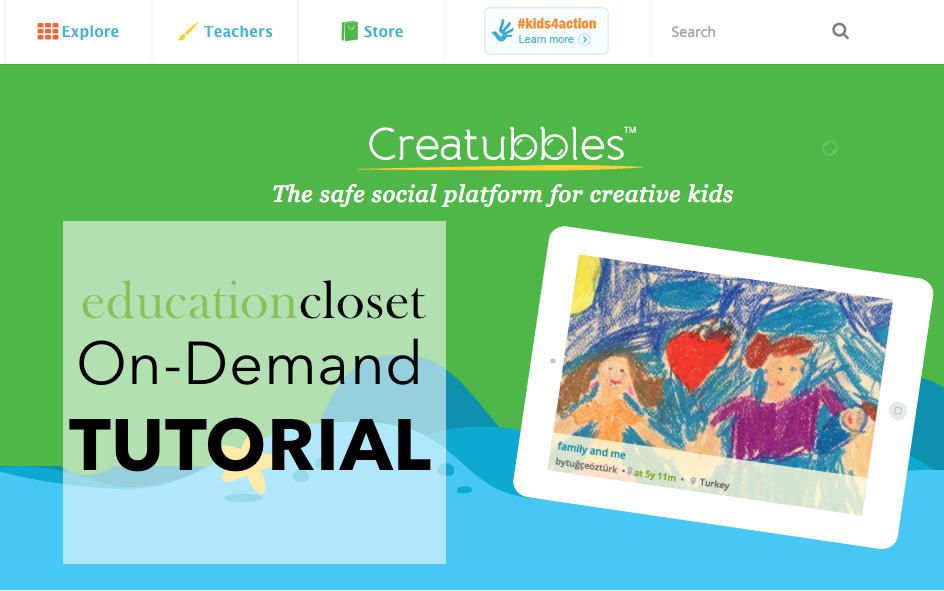 Designed with Kids in Mind, Education Closet