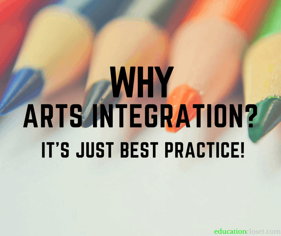 Why Arts Integration? It's Just Best Practice!, Education Closet