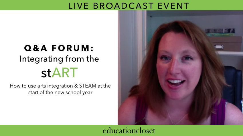 LIVE Q&A Forum Broadcast, Education Closet