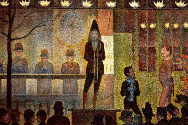 "Georges Seurat, ""La Parade de Cirque"", Close Looking as a Strategy for Arts Integration, Education Closet"