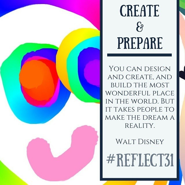 Creative Reflection, Education Closet