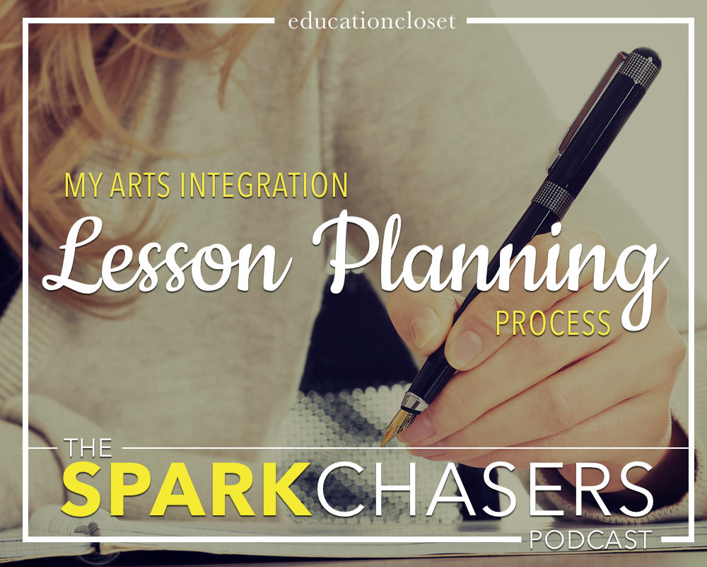 My Arts Integration Lesson Planning Process, Education Closet