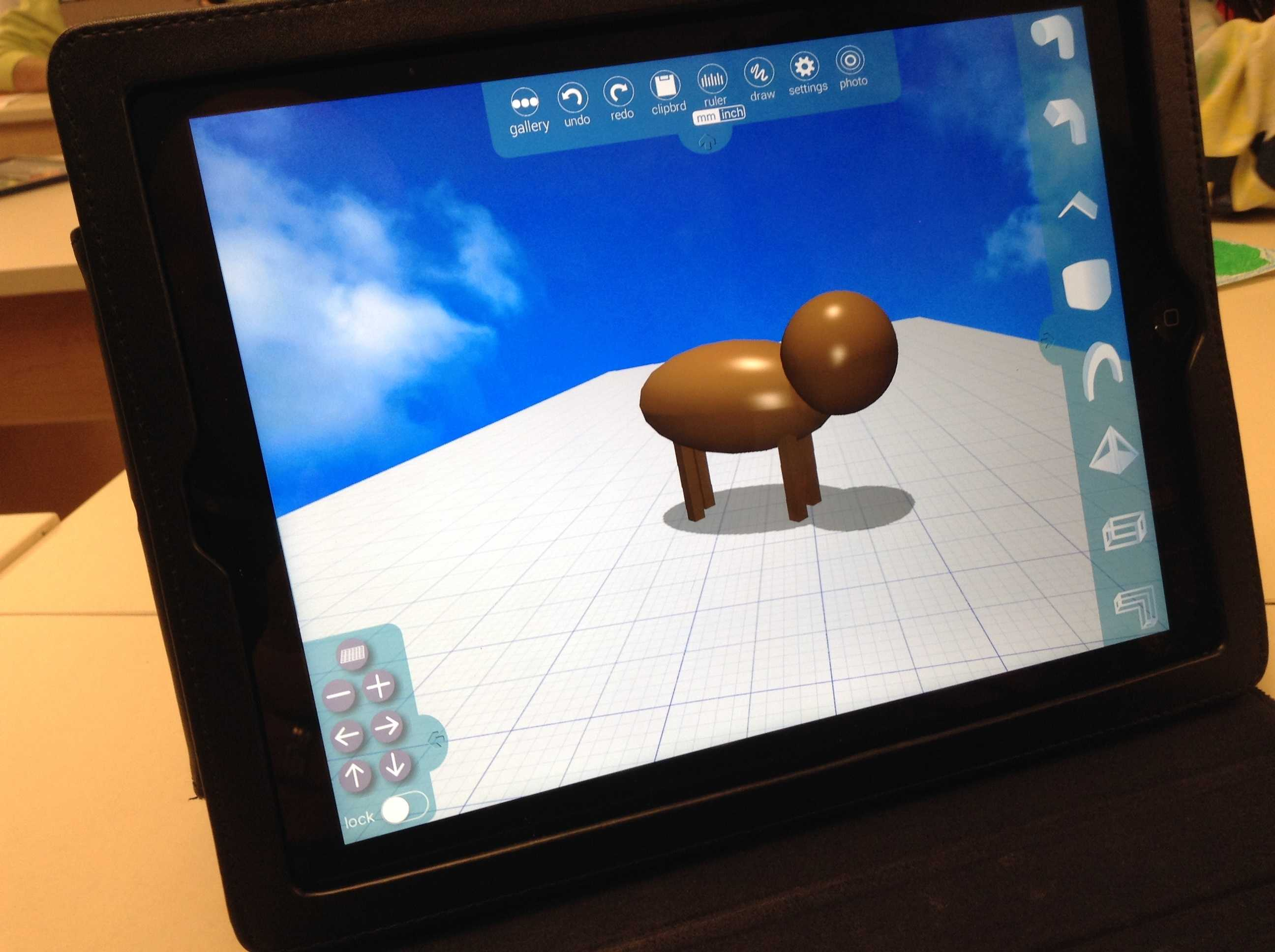 merged animal, Digital 3D Design Lesson Example, Education Closet