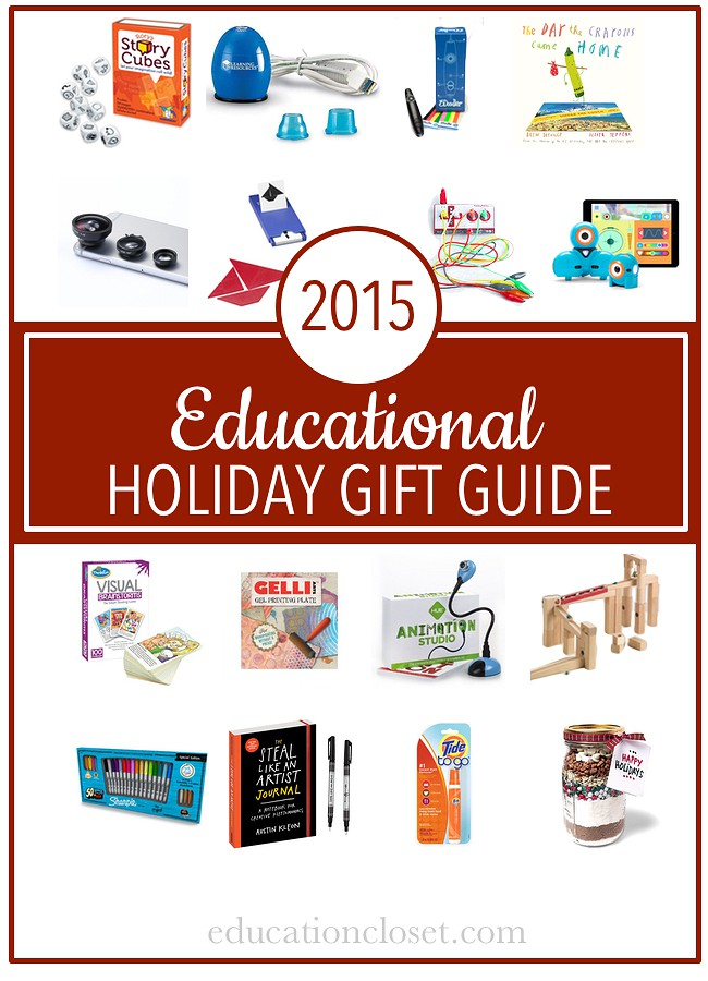 2015 Educational Holiday Gift Guide, Education Closet