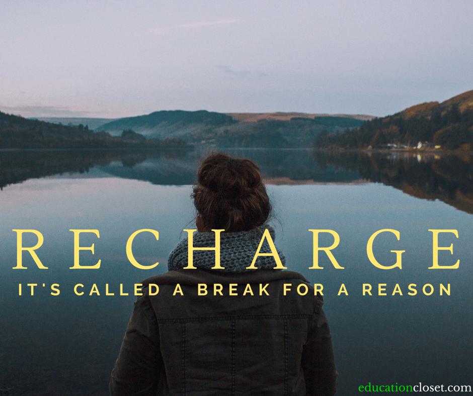 Break for a Reason, Education Closet