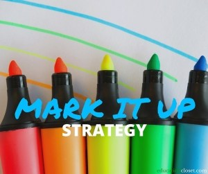 Mark It Up Strategy
