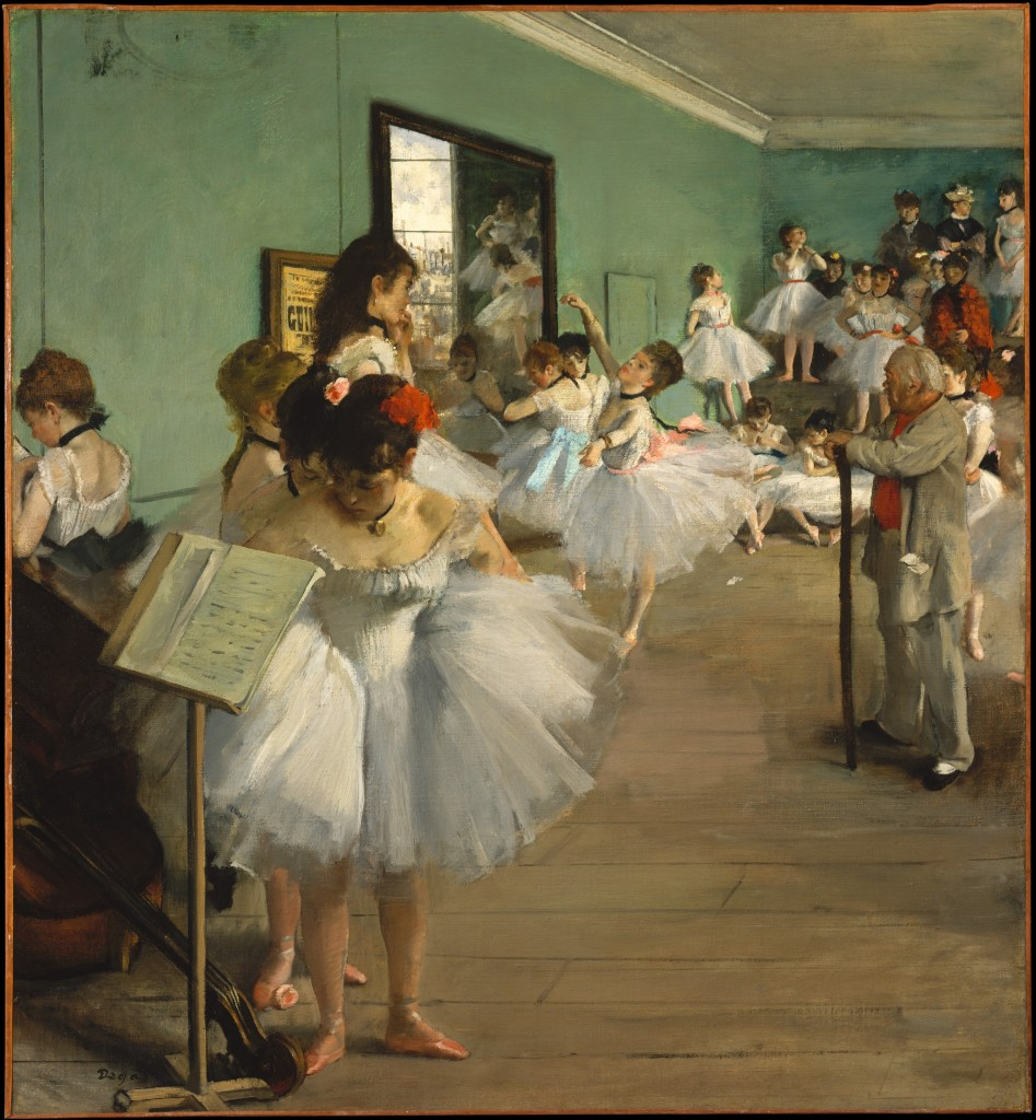"""The Dance Class"" (1874) by Degas, Education Closet"