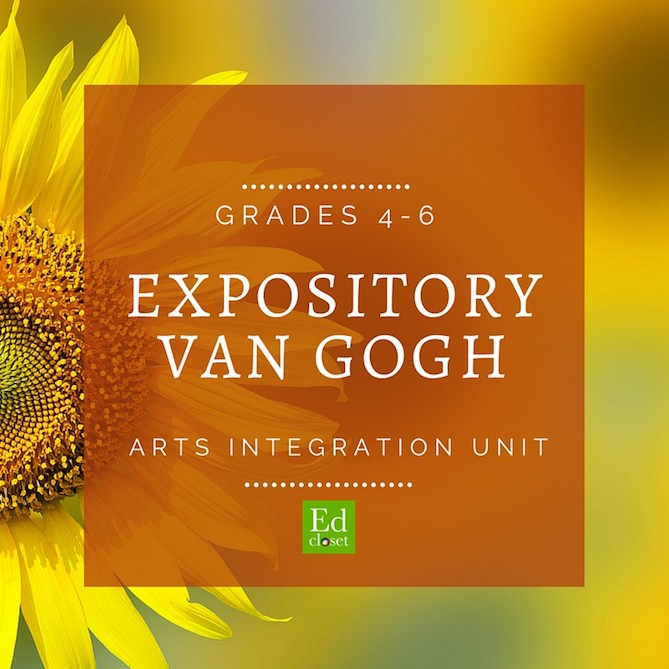 Expository Writing with Van Gogh, Education Closet