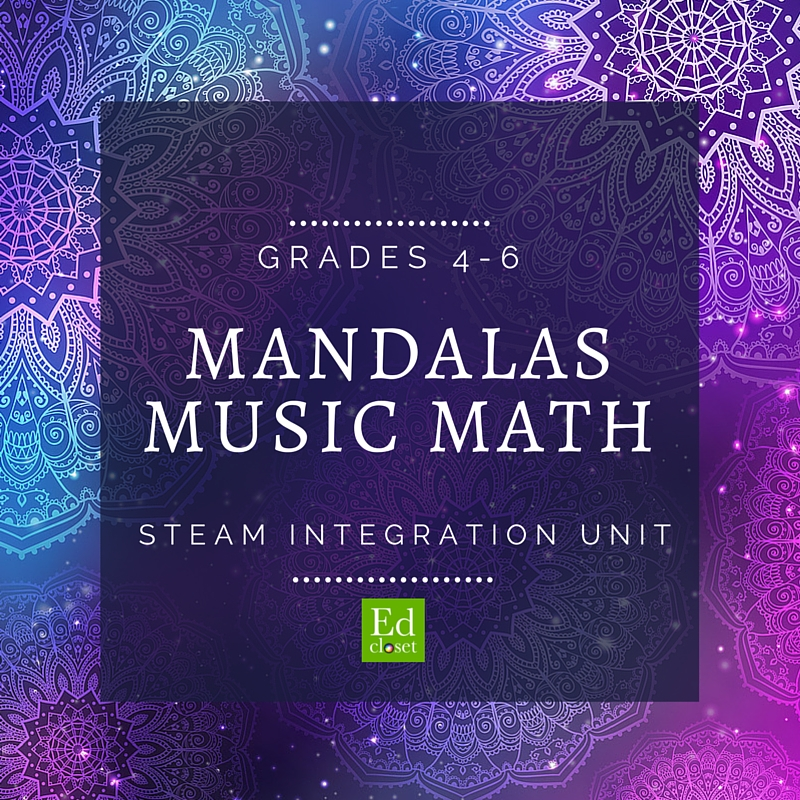 Mandalas Music and Math STEAM Unit