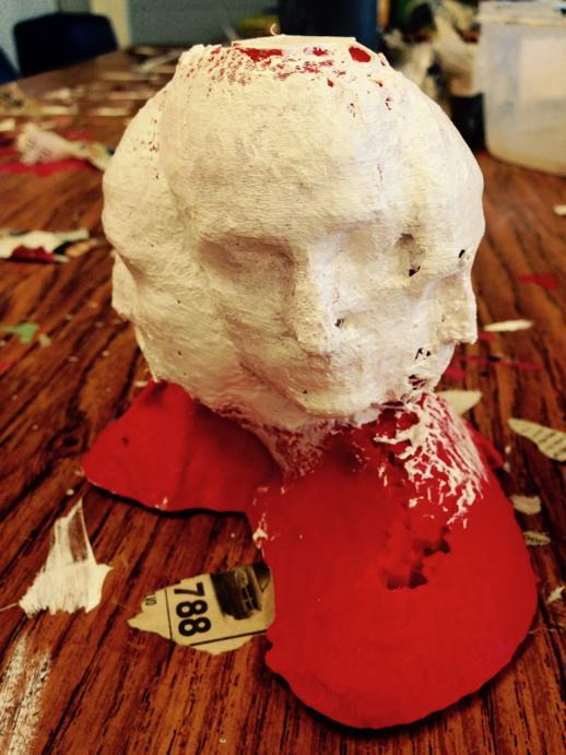 3D Scanned self portrait, 3D Scanning, Education Closet
