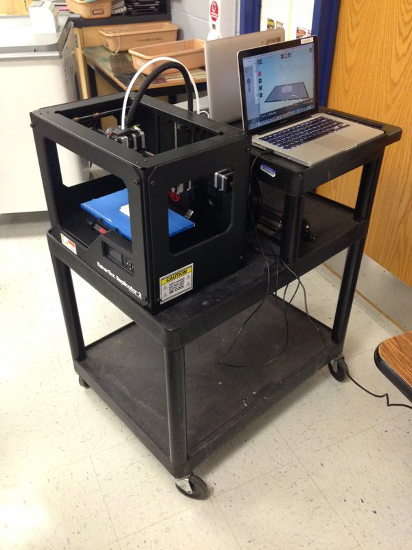 3D Art Cart, Education Closet