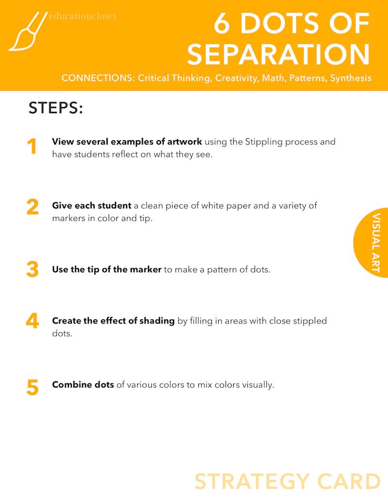 6 Dots of Separation, Education Closet