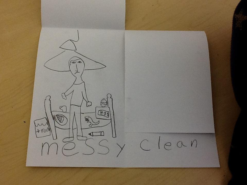 Writing Through Drawing, Education Closet