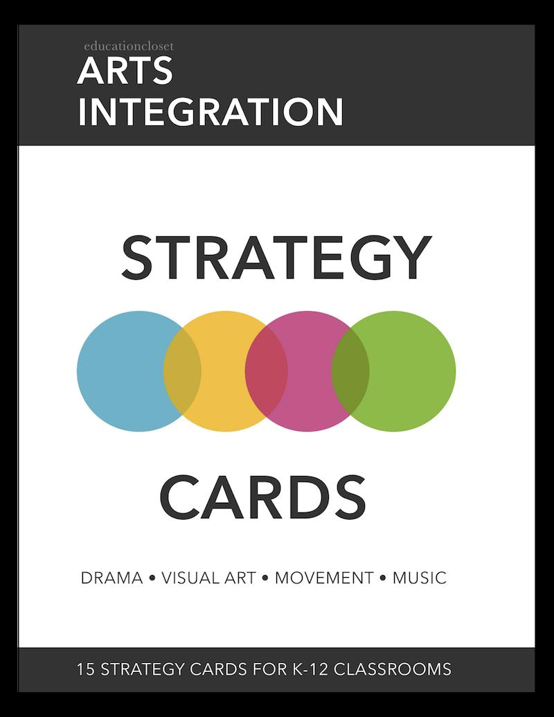 Arts Integration Strategy Cards