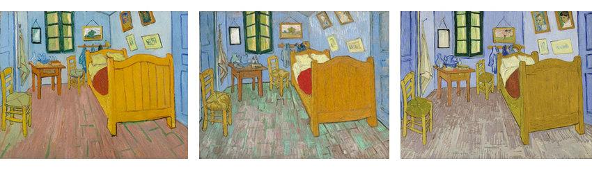 van gogh bedrooms